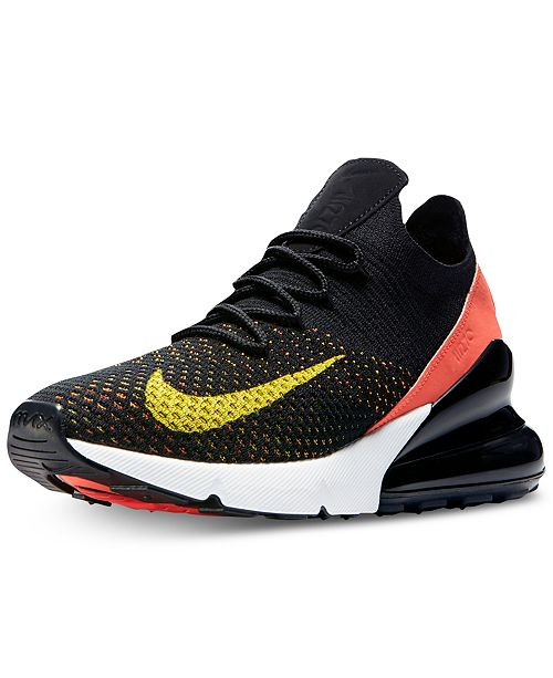 various colors e6643 c1f12 ... Nike Women s Air Max 270 Flyknit Casual Sneakers from Finish Line ...