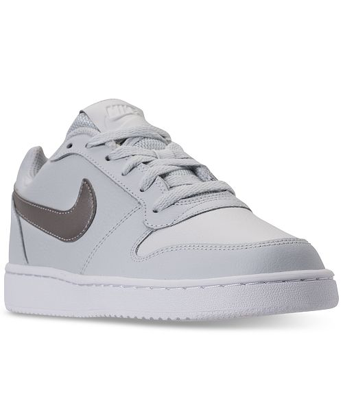 8bd8bae6d53b Nike Women s Ebernon Low Casual Sneakers from Finish Line   Reviews ...