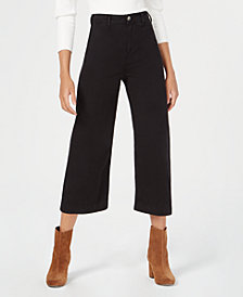 Free People Patti Cotton Cropped Pants