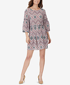WILLIAM RAST Sandra Printed Babydoll Dress