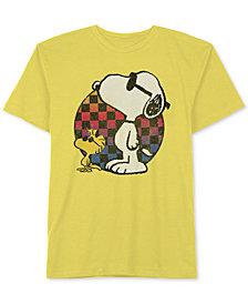 Peanuts Big Boys Snoopy-Print Cotton T-Shirt