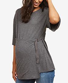 Motherhood Maternity Tie-Waist Top