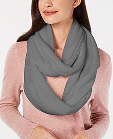 Calvin Klein Basic Knit Infinity Scarf