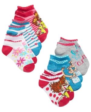 Disney Little  Big Girls 6Pk Fancy Nancy NoShow Socks