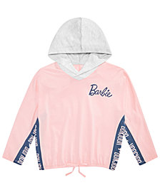 Barbie Big Girls Colorblocked Bonjour Hooded Top