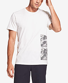 DKNY Men's Camouflage Logo Graphic T-Shirt