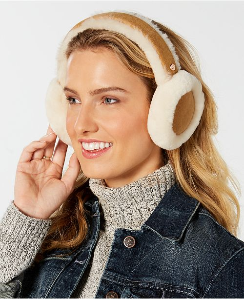 UGG® Sheepskin Bluetooth Earmuffs