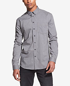 DKNY Men's Patchwork Stripe Pocket Shirt