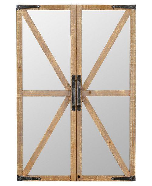 Aspire Home Accents Walker Farmhouse Wall Mirror