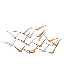 Skylar Metal Birds Wall Decor