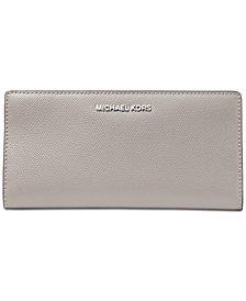 MICHAEL Michael Kors 2-in-1 Crossgrain Leather Card Case Wallet