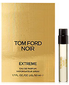 Receive a Complimentary Tom Ford Noir Extreme Sample with any Tom Ford Men's cologne or grooming purchase