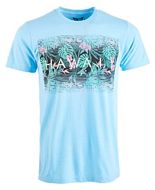 Men's Hawaii Floral Graphic T-Shirt