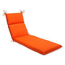 Sundeck Orange Chaise Lounge Cushion