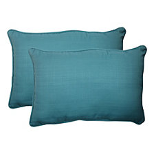 Forsyth Pool Over-sized Rectangular Throw Pillow, Set of 2