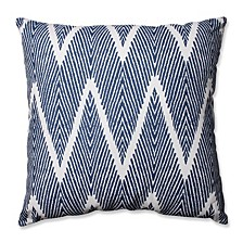 """Bali Navy 24.5"""" Floor Pillow"""