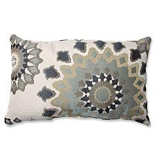Marais English Garden Rectangular Throw Pillow