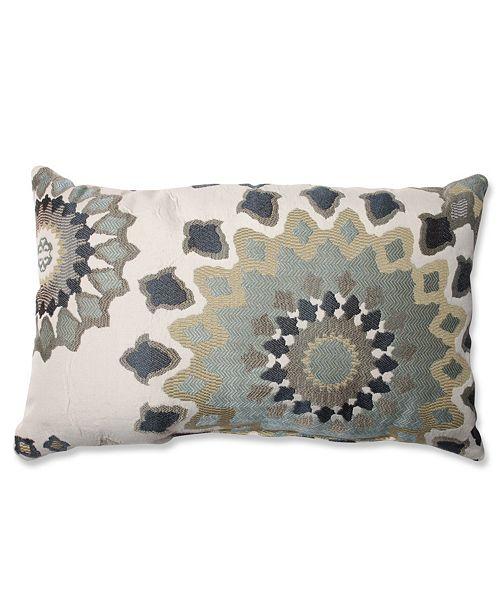 Pillow Perfect Marais English Garden Rectangular Throw Pillow