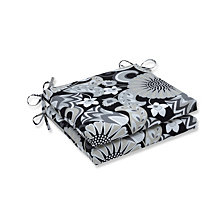Sophia Graphite Squared Corners Seat Cushion, Set of 2