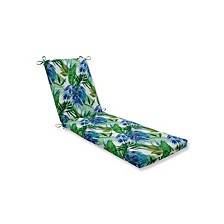Soleil Blue/Green Chaise Lounge Cushion
