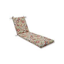 Zoe Citrus Chaise Lounge Cushion