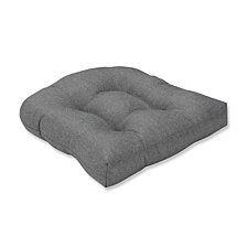 Sonoma Pewter Wicker Seat Cushion