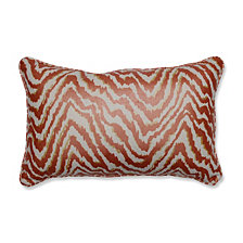 Sleek Spice Rectangular Throw Pillow