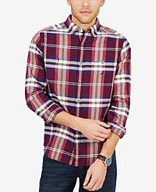Nautica Men's Classic Fit Plaid Flannel Shirt