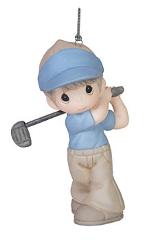Precious Moments World's Best Golfer Ornament