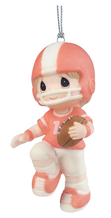 Precious Moments You're My First Pick Football Player Ornament