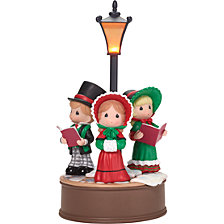 Precious Moments Here We Come A-Caroling LED Holiday Music Box