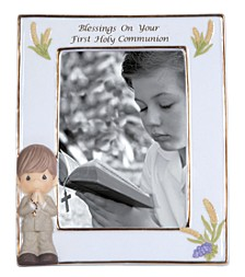 Blessings On Your First Holy Communion Photo Frame, Boy