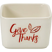 Celebrations by Give Thanks Fall Harvest Serving Bowl