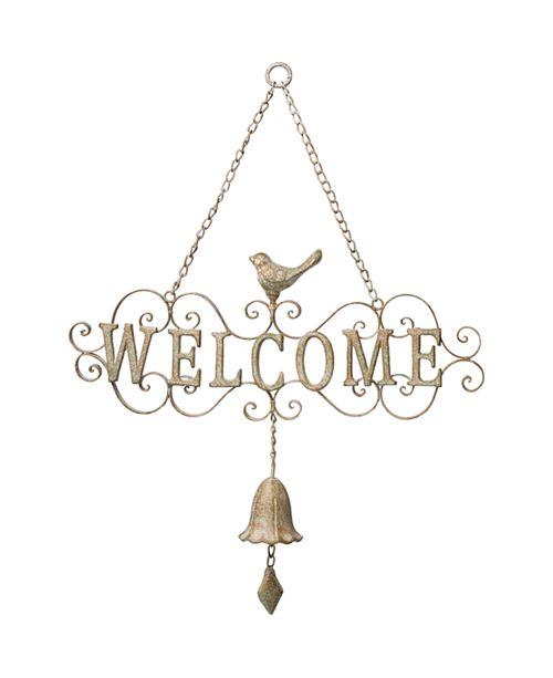 Precious Moments Welcome Bell Door Hanger