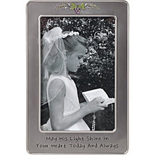 May His Light Shine First Communion 4 x 6 Photo Frame