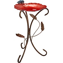 Garden Flower Petal Bird Bath