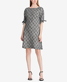 American Living Plaid Sheath Dress