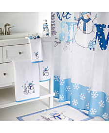 Avanti Let It Snow Bath Collection