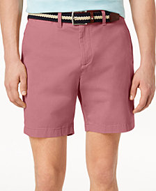 "Tommy Hilfiger Men's Stretch Tommy 7"" Shorts, Created for Macy's"