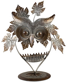 CLOSEOUT! Home Essentials Owl Candle Holder