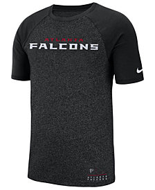 Nike Men's Atlanta Falcons Marled Raglan T-Shirt