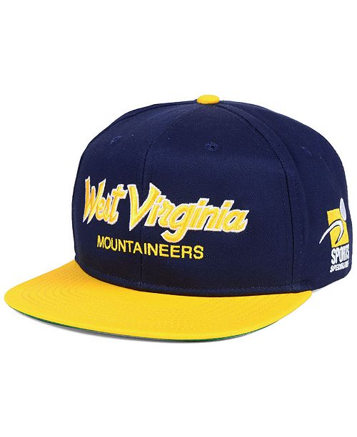 timeless design 3b671 32a11 Nike West Virginia Mountaineers Sport Specialties Snapback Cap ...