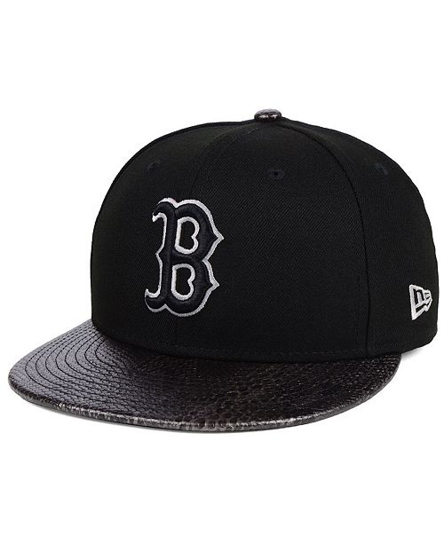 New Era Boston Red Sox Snakeskin Sleek 59FIFTY FITTED Cap - Sports ... bea423fd93c5