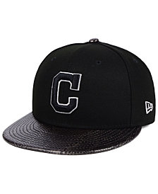 New Era Cleveland Indians Snakeskin Sleek 59FIFTY FITTED Cap