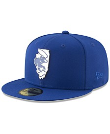 New Era Chicago Cubs Gold Stated 59FIFTY FITTED Cap