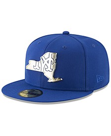 New York Mets Gold Stated 59FIFTY FITTED Cap