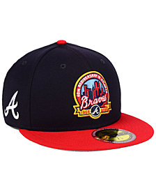 New Era Atlanta Braves Ultimate Patch Collection Front 59FIFTY FITTED Cap