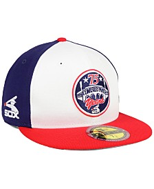 New Era Chicago White Sox Ultimate Patch Collection Front 59FIFTY FITTED Cap