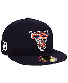 New Era Detroit Tigers Ultimate Patch Collection Front 59FIFTY FITTED Cap
