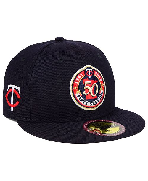New Era Minnesota Twins Ultimate Patch Collection Front 59FIFTY FITTED Cap